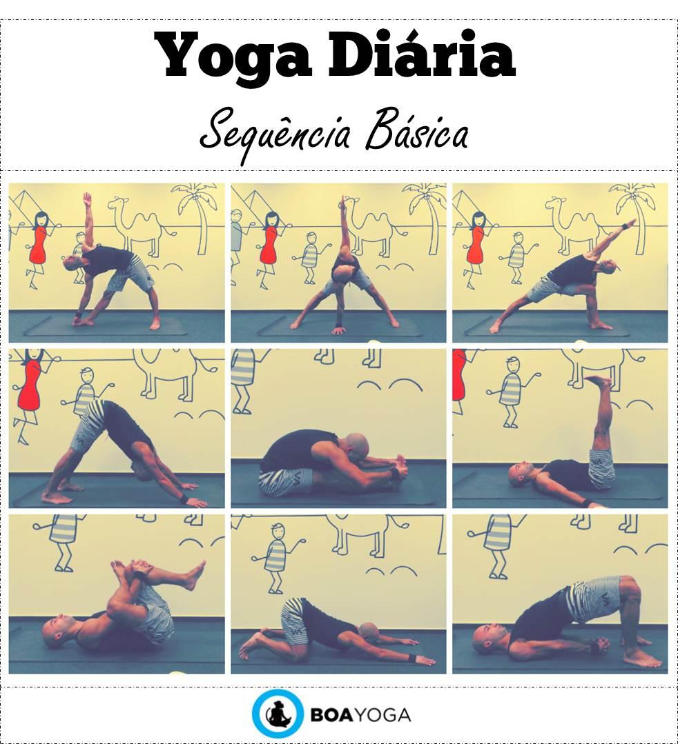Favoritos Yoga Diária - Sequência Básica | SU82